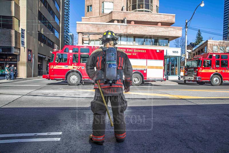 April 12, 2015 - 2nd Alarm - 1055 Bay St.