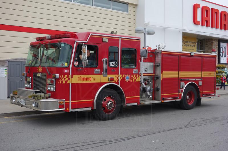 Rescue 243.<br /> <br /> Photo by Kevin Hardinge