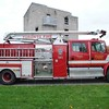 Training Pumper TRP3, a 1996 Freightliner / Dependable w/ snozzle.<br /> <br /> Photo by Larry Thorne