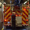 Pumper 322's new rig on it's first day of service.<br /> <br /> Photo by Larry Thorne