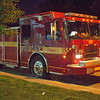 Pumper 116, first in at a 2nd alarm high-rise fire at 2885 Bayview Ave., June 15, 2012.<br /> <br /> Photo by Kevin Hardinge