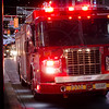 On scene of a garbage fire at the Eaton Centre.<br /> <br /> Photo by William Summerbell.