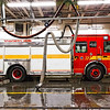 Pumper 322's new rig on it's first day of service, February 16, 2012.<br /> <br /> Photo by Kevin Hardinge