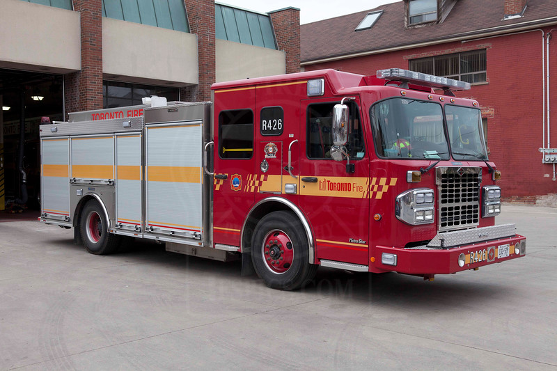 Rescue 426's new rig entered service March 15, 2012.<br /> <br /> Photo by Kevin Hardinge