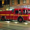 Rescue 325 on Church St. for a report of smoke in a building, June 15, 2012.<br /> <br /> Photo by Kevin Hardinge