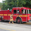 Rescue 325 on the scene of a gas leak on Gerrard St. East.<br /> <br /> Photo by Kevin Hardinge