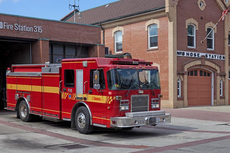 Pumper 315.<br /> <br /> Photo by Kevin Hardinge