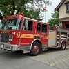 Aerial 131 running a spare pumper (ex P313).<br /> <br /> Photo by Kevin Hardinge