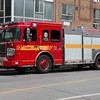 Pumper 325 at an elevator rescue on Shuter St.<br /> <br /> Photo by Kevin Hardinge