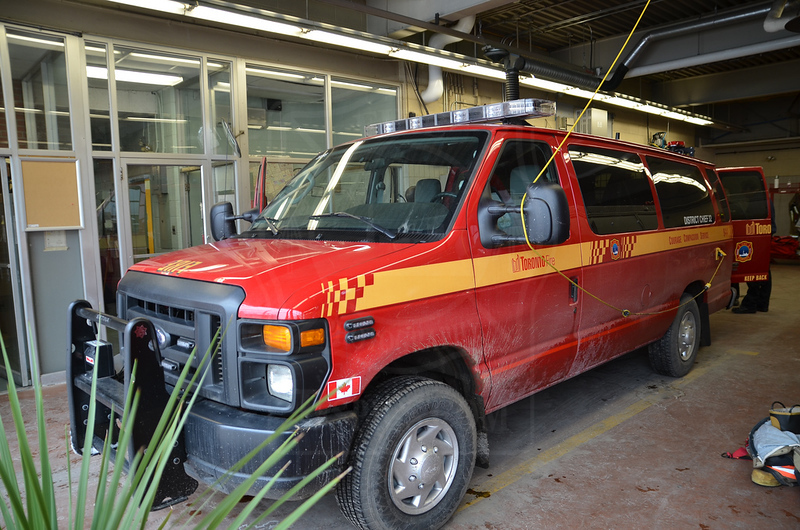 Car 32's new rig, which entered service December 31, 2012.<br /> <br /> Photo by Larry Thorne