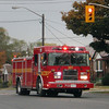 Pumper 132 responding.<br /> <br /> Photo by SJC