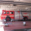 Pumper 331, with P314's old rig, in quarters.<br /> <br /> Photo by Justin Waldon