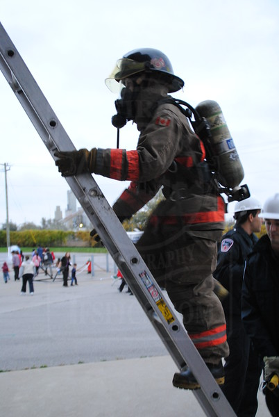 Fire Prevention Week Open House at East Command Training.<br /> <br /> Photo by Larry Thorne