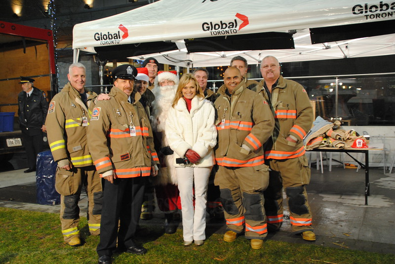 Toronto Fire Toy Drive 2011<br /> <br /> Photo by Larry Thorne