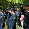"Pumper 227 ""B"" Platoon attended the 9/11 Memorial Service @ Woodbine Park Millennium Gardens.<br /> <br /> Photo by Larry Thorne"