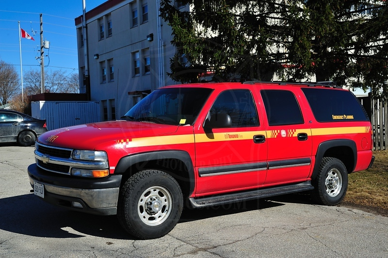 TFS Emergency Planning Chevrolet Tahoe.<br /> <br /> Photo by Kenneth Lai