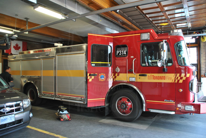 Pumper 314's new rig in service July 7th 2011.<br /> <br /> Photo by Larry Thorne