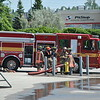 Pump training at East Command Training Centre., August 4, 2011.<br /> <br /> Photo by Larry Thorne