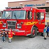 Station 133 open house for TFS Fire Prevention Week.<br /> <br /> Photo by Kevin Hardinge