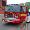 Pumper 234 at the TPS 43 Division BBQ & Open House.<br /> <br /> Photo by Larry Thorne