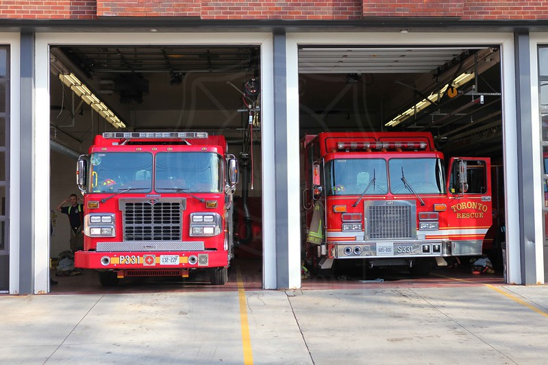 P331's new pumper, which entered service November 30th, 2011.<br /> <br /> Photo by Kevin Hardinge