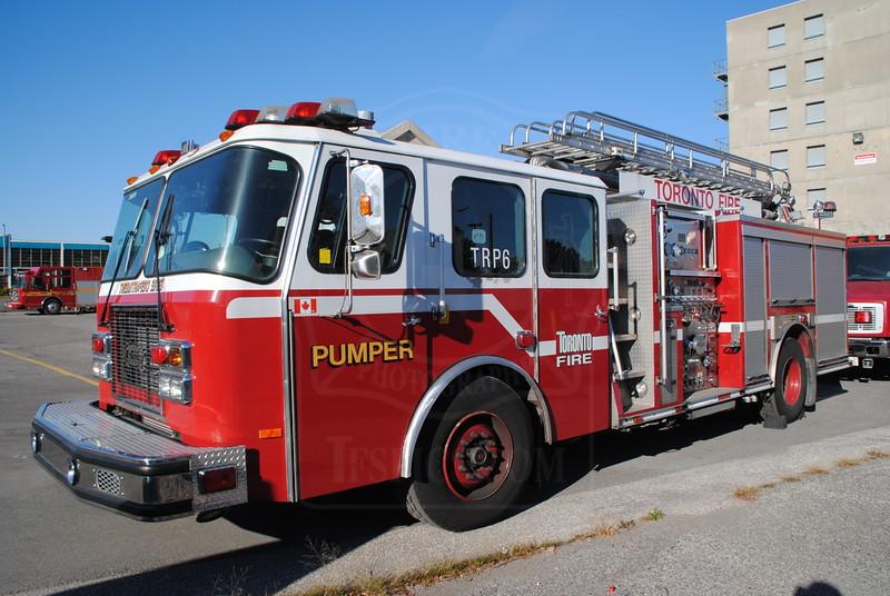 Training Pumper 6 (ex P215).<br /> <br /> Photo by Larry Thorne