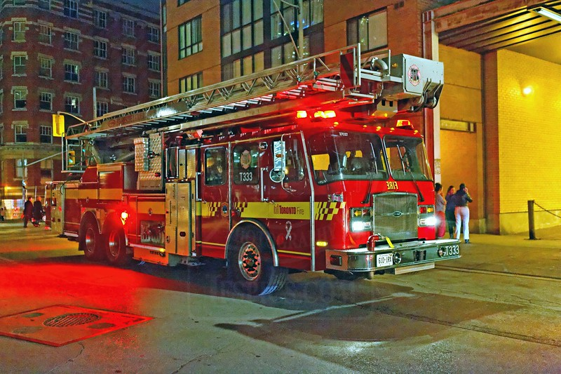 Tower 333 on the scene of highrise alarms at 1 Church St., October 22, 2011.<br /> <br /> Photo by Kevin Hardinge