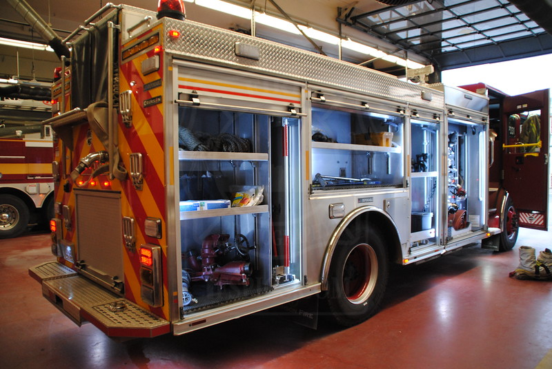 P331's new pumper, which entered service November 30th, 2011.<br /> <br /> Photo by Larry Thorne
