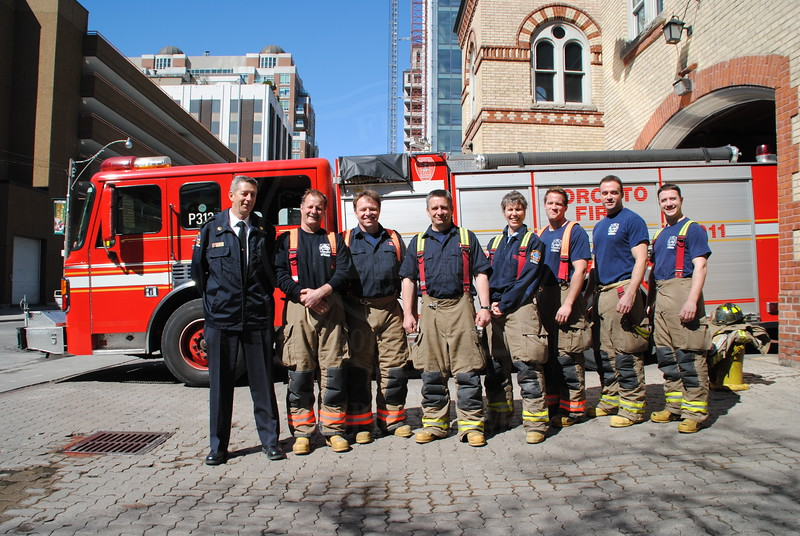 """Station 312 """"D"""" Platoon.<br /> <br /> Photo by Larry Thorne"""