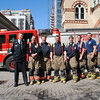 "Station 312 ""D"" Platoon.<br /> <br /> Photo by Larry Thorne"