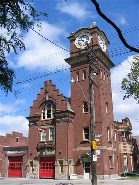 Station 227<br /> <br /> 1904 Queen St. East<br /> Built 1905<br /> Formerly Toronto F.D. Station 17<br /> <br /> P227<br /> <br /> Photo by Desmond Brett