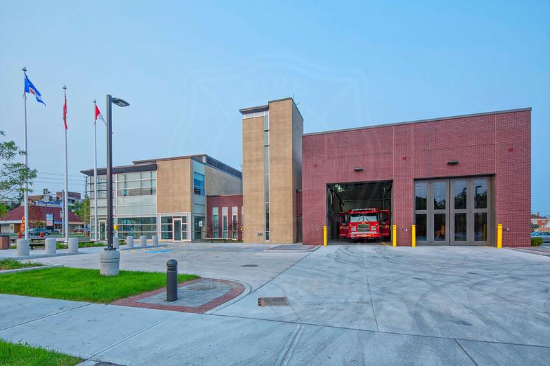Station 221<br /> <br /> 2575 Eglinton Avenue East<br /> Built 2014<br /> <br /> Pumper 221<br /> <br /> Photo by Kevin Hardinge