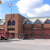 Station 114<br /> <br /> 12 Canterbury Place<br /> Built 1989<br /> Formerly North York F.D. Station 1<br /> <br /> A/L114, T114, P114, CMD10, C10<br /> <br /> Photo by Desmond Brett