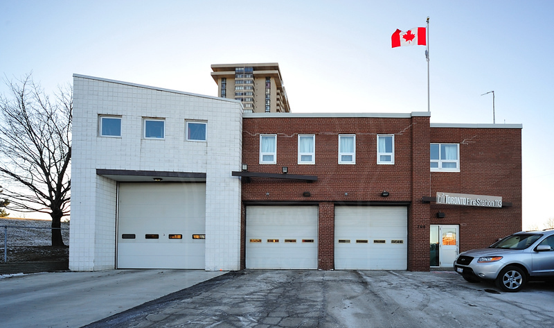 Station 113<br /> <br /> 700 Seneca Hill<br /> Built 1969<br /> Formerly North York F.D. Station 9<br /> <br /> A113, P113<br /> <br /> Photo by Kenneth Lai
