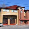 Station 132<br /> <br /> 476 Lawrence Ave. West<br /> Built 1999<br /> Formerly North York F.D. Station 9<br /> <br /> P132, C13<br /> <br /> Photo by Desmond Brett