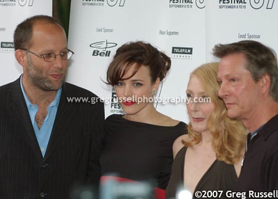 Ira Sachs, Rachael McAdams, Patricia Clarkson and Chris Cooper