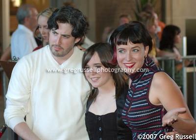 Jason Reitman, Ellen Page and Diablo Cody
