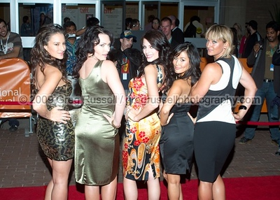 America Olivo, Actress Erin Cummings, Actress Julia Voth, Actress Minae Noji, and Zoe Bell