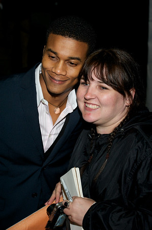 Cory Hardrict and Fan