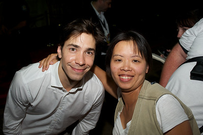 Justin Long and Fan