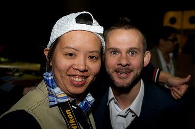 Dominic Monaghan and Fan