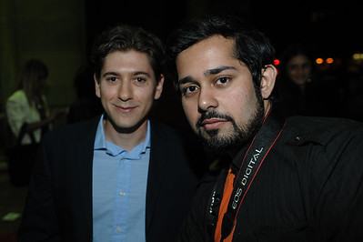 Michael Zegen and Fan