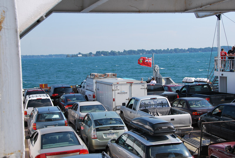 Ferry to Wolf Island