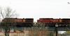Two Locomotives on the Bridge