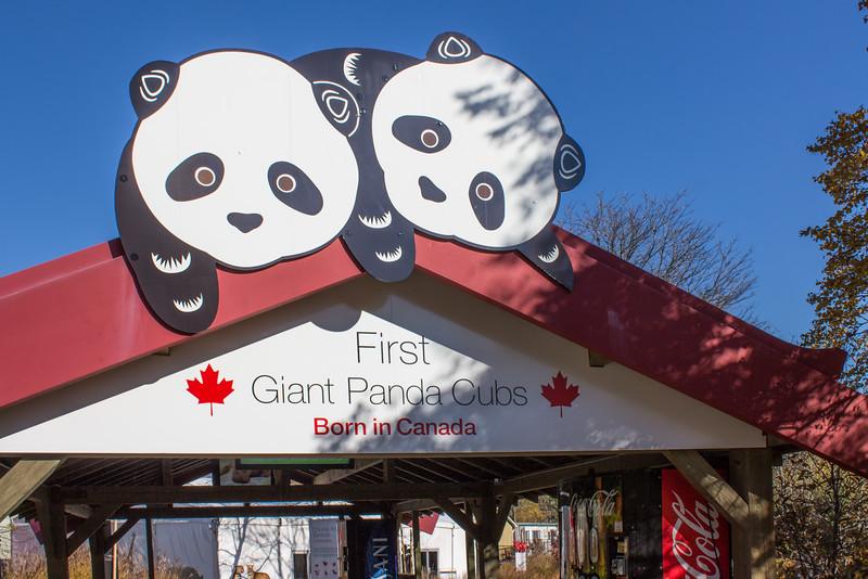 Panda Exhibit Entrance