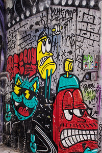 Graffiti Alley 13