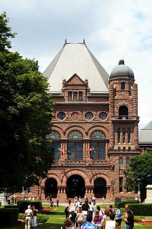 Queen's Park and Tour of the Legislature