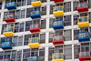 Balconies in Primary Colours