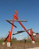 Log and Girder Sculpture 1
