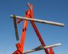 Log and Girder Sculpture 2